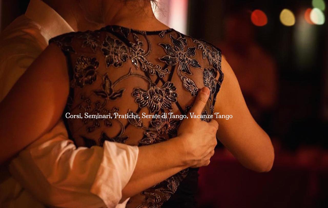 Corsi seminari vacanze tango