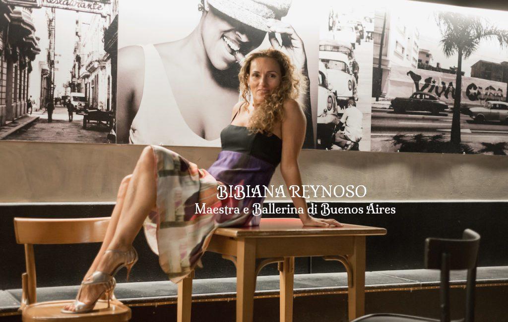 Bibiana Reynoso maestra di tango